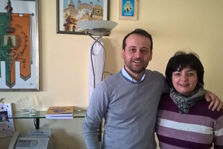 Gianfilippo Bancheri_assessora Piera Alaimo