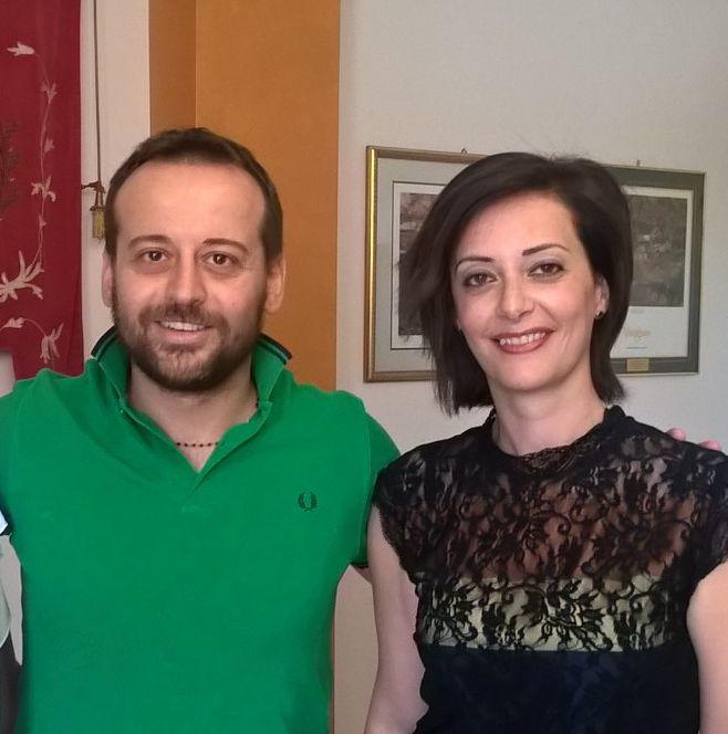 Gianfilippo Bancheri e Letizia Strazzeri