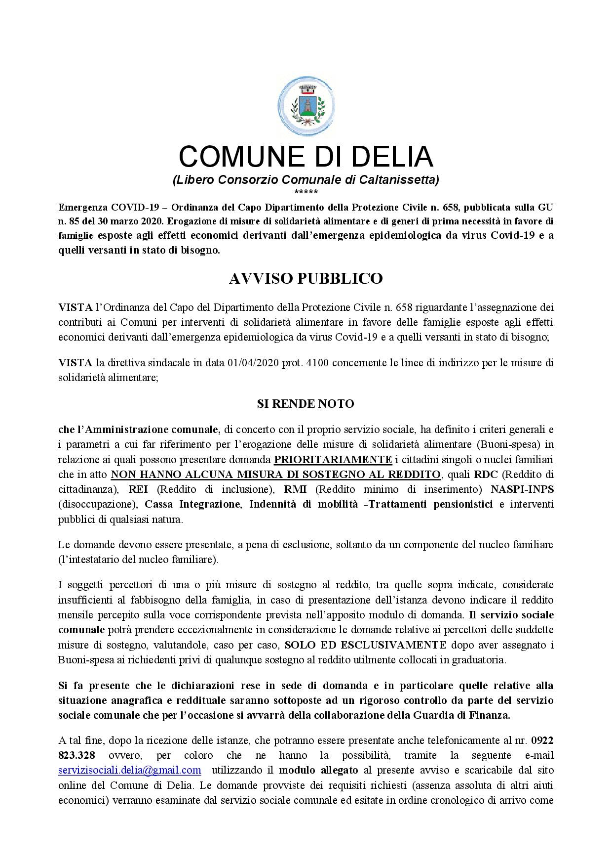 AVVISO BUONI SPESA-001