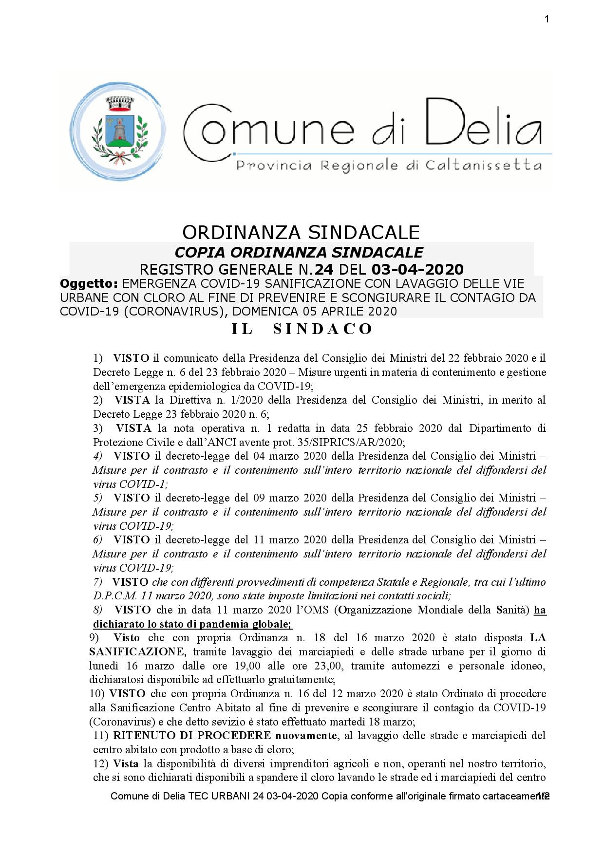 ORDINANZA SINDACALE N. 24 DEL 03-04-2020-001