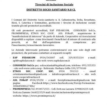AVVISO TIROCINI DI INCLUSIONE (2)